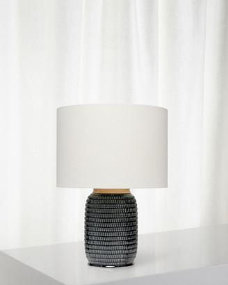 Jamie Young Graham Table Lamp, Dark Navy