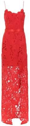 Tufi Duek lace long dress