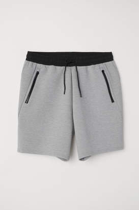 H&M Sporty Scuba Shorts - Gray