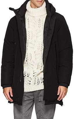 Moncler Men's Down-Quilted Paneled Hooded Parka