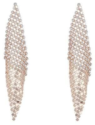 Free Press Mesh & Crystal Kite Earrings