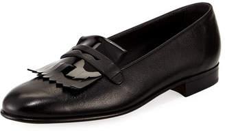 Gravati Leather Kiltie Loafer