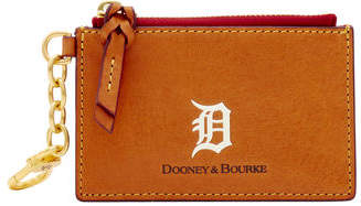 Dooney & Bourke MLB Tigers Zip Top Card Case
