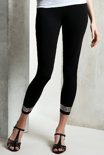 Limited Collection Border Studded Leggings