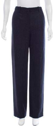 Theory High-Rise Pinstripe Pants w/ Tags