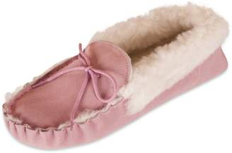 ba7edc169917 at Amazon Canada · Nordvek Premium Ladies Genuine Lambswool Moccasin  Slippers With Suede Sole And Wool Collar   418-