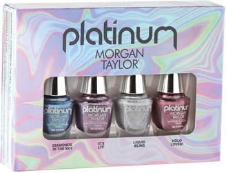Morgan Taylor Platinum Mini 4 Pack