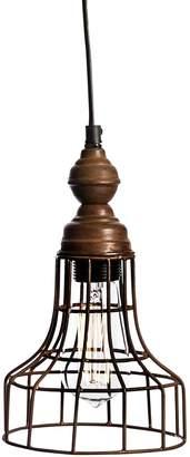 Casa Uno Vintage Iron Torch Pendant Light
