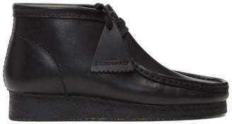 Clarks Black Wallabee Boots