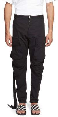 Taverniti So Ben Unravel Project Slim Slouchy Cotton Pants