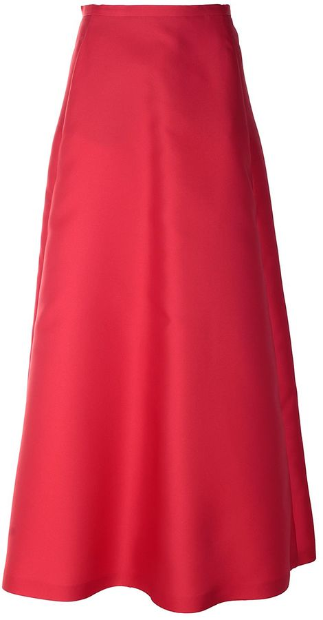 Max Mara Max Mara Nevada Duchesse Long Skirt