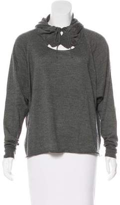 Stella McCartney Hooded Cashmere-Blend Sweater