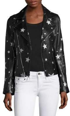 RtA Nico Leather Moto Jacket