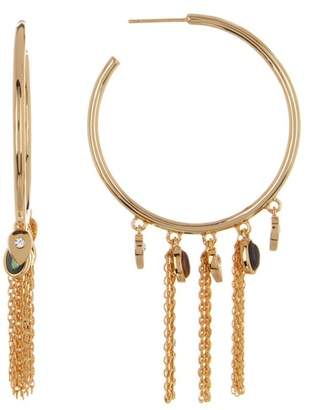 Jules Smith Designs Arya Fringe Hoop Earrings