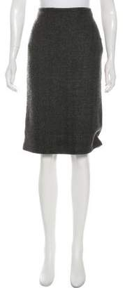 Ralph Lauren Black Label Knee-Length Cashmere-Blend Skirt