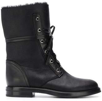 Casadei shearling lined boots