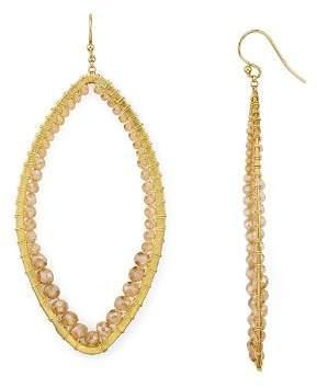 Chan Luu Marquise Earrings