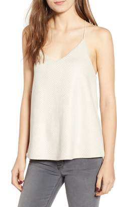Bishop + Young BISHOP AND YOUNG Micro Stud Faux Suede Camisole