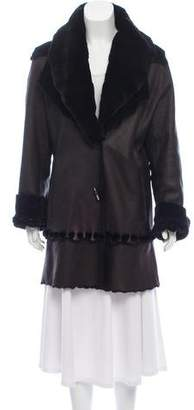 Giuliana Teso Trimmed Shearling Coat