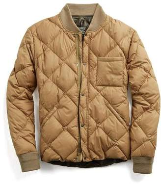Rocky Mountain Featherbed Todd Snyder + Liner Down Jacket in Camel