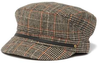 August Hat Paneled Plaid Newsboy Cap