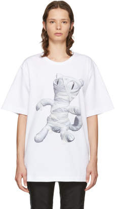 Juun.J White Cat Mummy T-Shirt