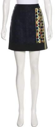Etro Embellished Mini Skirt
