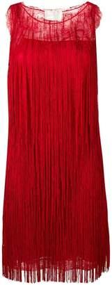 Alberta Ferretti Abito fringe dress