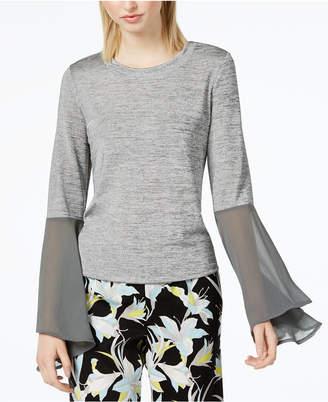 Bar III Bell-Sleeve Top, Created for Macy's