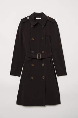 H&M Trenchcoat - Black