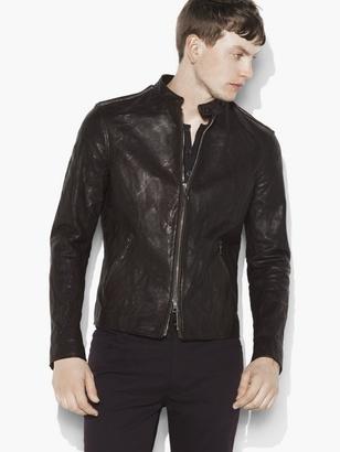 Studded Leather Jacket $1,998 thestylecure.com