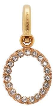 Burberry O Crystal Embellished Letter Charm - Womens - Crystal