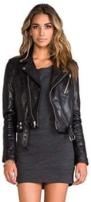 KBN Leather Women's Genuine Lambskin biker Bomber Jacket