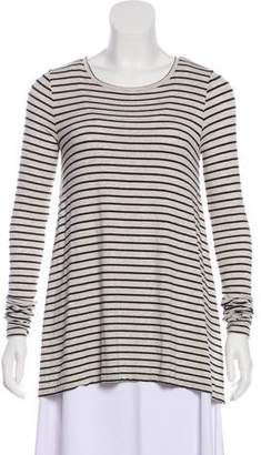 Calypso Striped Long Sleeve Top