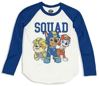 Junk Food Clothing x Nickelodeon Boys' Paw Patrol© Raglan Squad Tee, Little Kid - 100% Exclusive