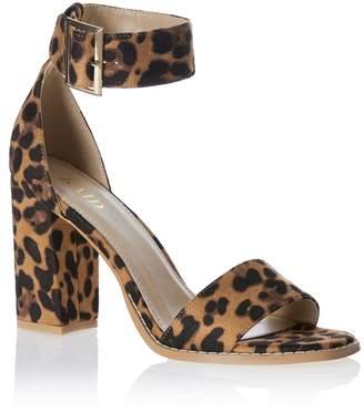 c4ff93a9421 Leopard Print Block Heel Shoes - ShopStyle UK