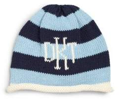 MJK Knits Baby's, Toddler's & Kid's Personalized Stripe Name Hat