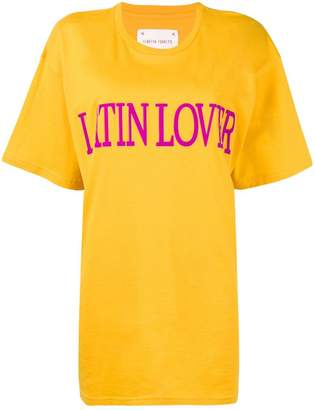 Alberta Ferretti 'latin lover' printed T-shirt