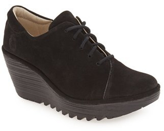 Women's Fly London 'Yumi' Lace-Up Platform Wedge $179.95 thestylecure.com
