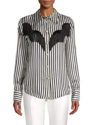 Marc Jacobs Striped Long-Sleeve Shirt