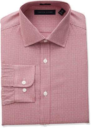 Tommy Hilfiger Men's Dress Shirts Slim Fit Check