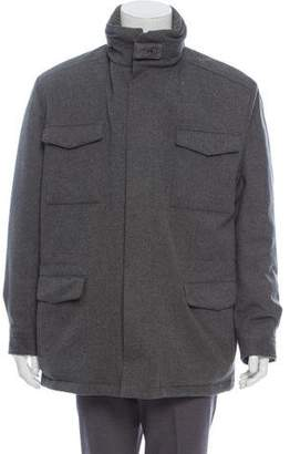 Loro Piana Wool Down Coat