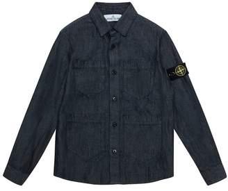 Stone Island Denim Pocket Shirt