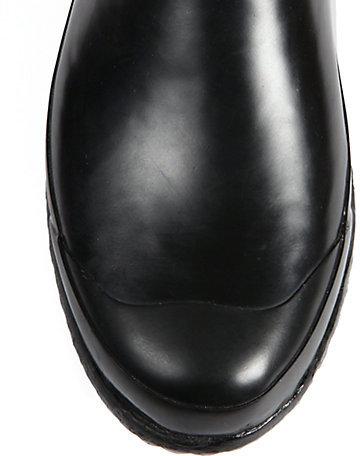 Burberry Mid-Calf Buckle Rain Boots