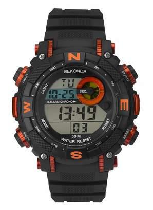 Sekonda Unisex Adult Digital Watch with Plastic Strap 1527E.05