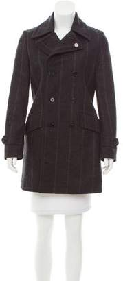 Diesel Black Gold Double-Breasted Wool Coat