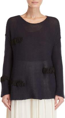 Pierantonio Gaspari Knit Sew-In Strap Detail Sweater