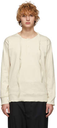 J.W.Anderson Off-White Knit Long Sleeve T-Shirt