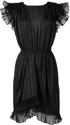 Isabel Marant sparkle detail ruffle dress