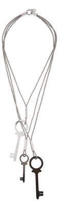 Diana Broussard Chiave Triple Key Necklace
